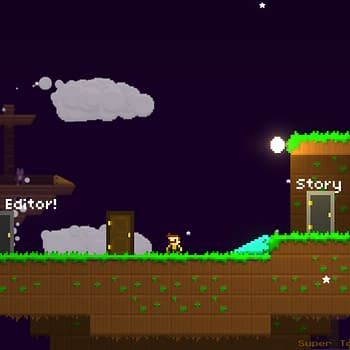 Platformer Building on a Different Level with Super Tony Land