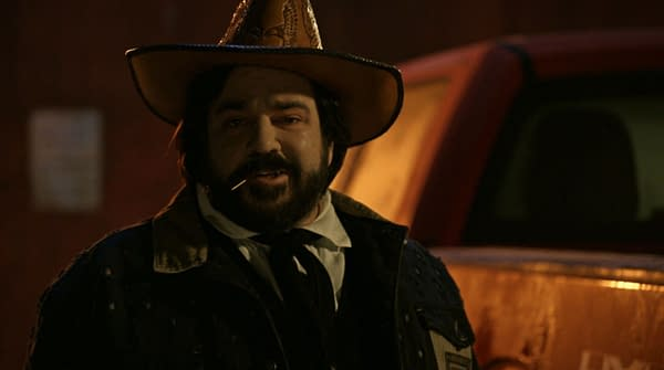 Introducing Jackie Daytona aka Laszlo on What We Do in the Shadows, courtesy of FX Networks.