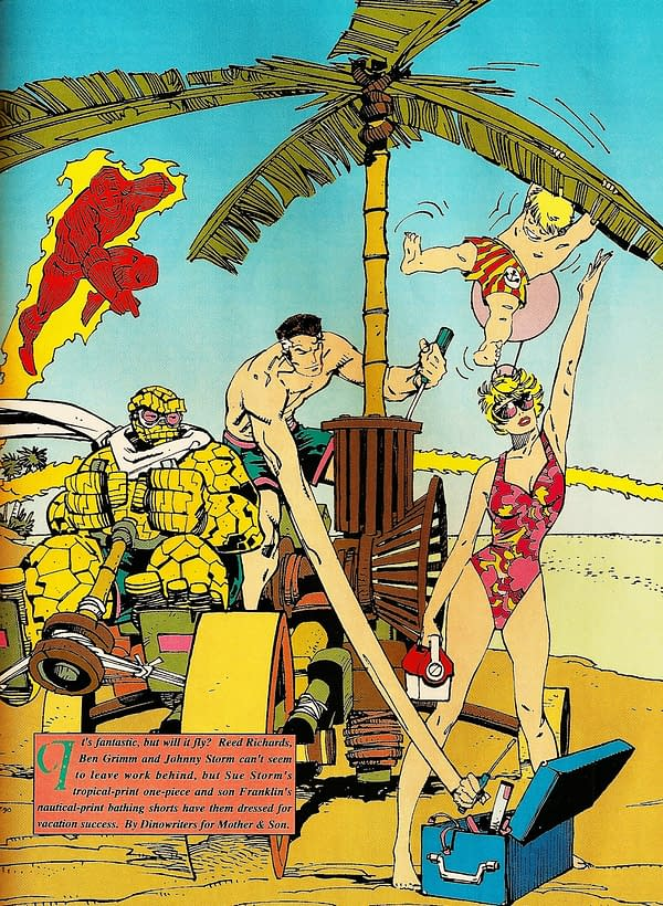 Summer Vibes: The Best Looks From Marvel's Swimsuit Issues
