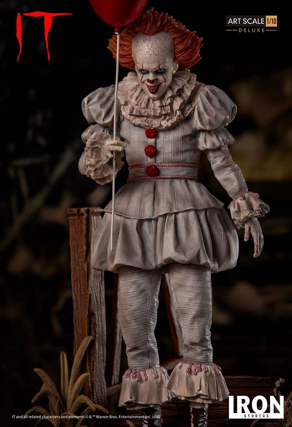 Pennywise Iron Studios Deluxe Edition 1