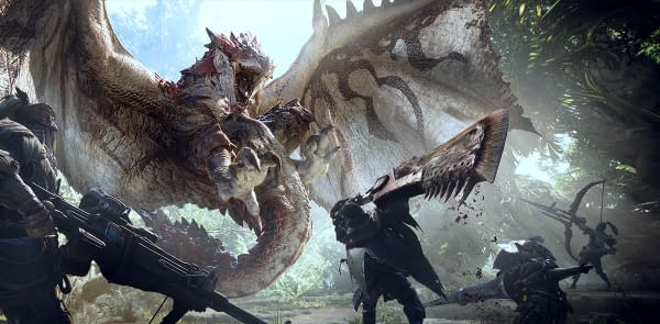 Monster Hunter World Delves into the Rotten Vale in Latest Trailer