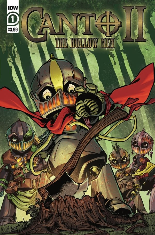 The cover of Canto II: The Hollow Men #1 (of 5) published by IDW Publishing