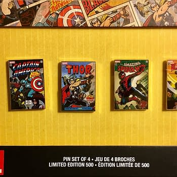 Limited Edition Marvel Pins Revealed At D23