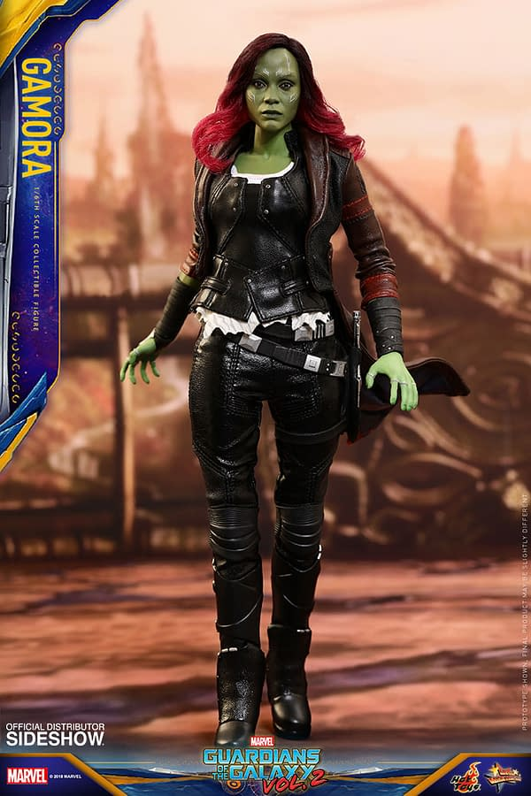 Hot Toys Guardians Vol. 2 Gamora 1