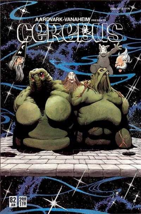 Dave Sim Does Cerebus/Swamp Thing - and Alex Raymond Flash Gordon - in Vark Wars #1