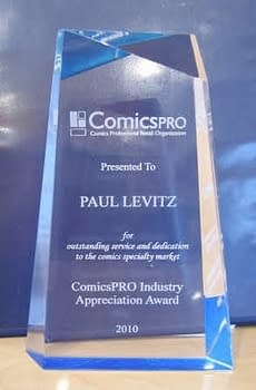 ComicsPRO Industry Awards Announce Nominees, and Honour Dave Hawksworth