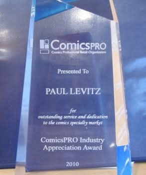 ComicsPRO Industry Awards Announce Nominees and Honour Dave Hawksworth