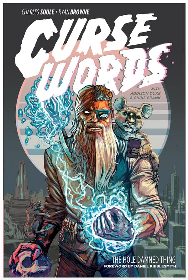 Curse Words cover by Ryan Browne which is now on Kickstarter.