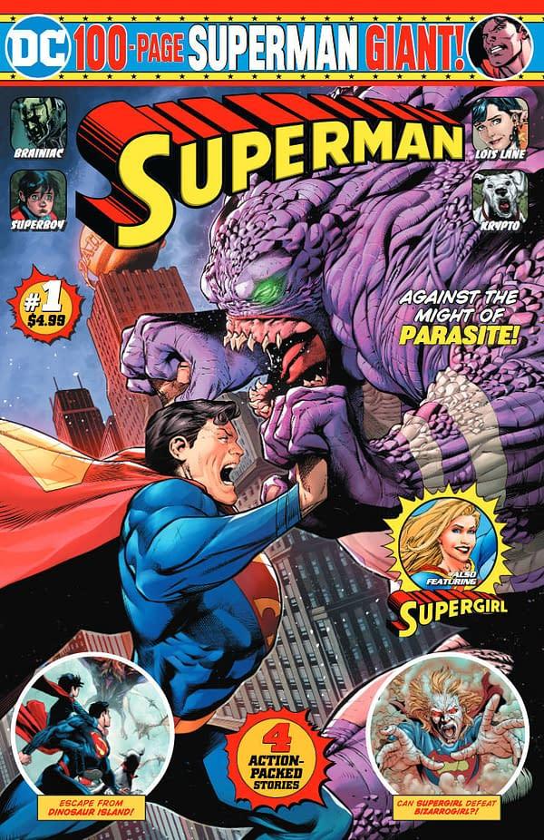 Robert Venditti, Paul Pelletier and Andrew HennessyLaunch New Superman Giant #1