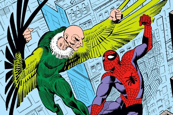 spider-man and vulture