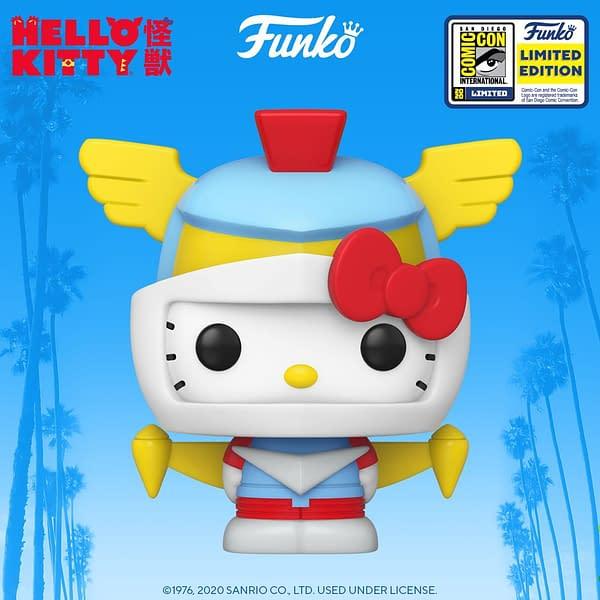 Funko SDCC 2020 - Dragon Ball Super, My Hero Academia, Hello Kitty