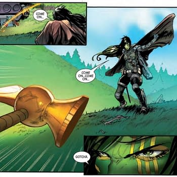 Who Wins in a Fight Gamora or Beta Ray Bill Guardians of the Galaxy #4 Preview