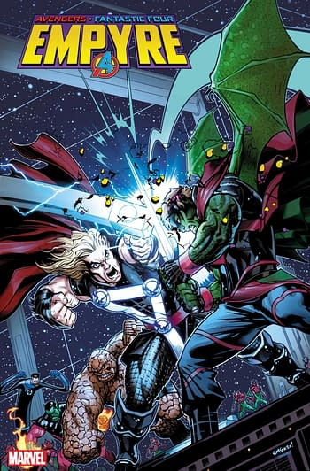 Empyre #1 party variant from Marvel Comics.