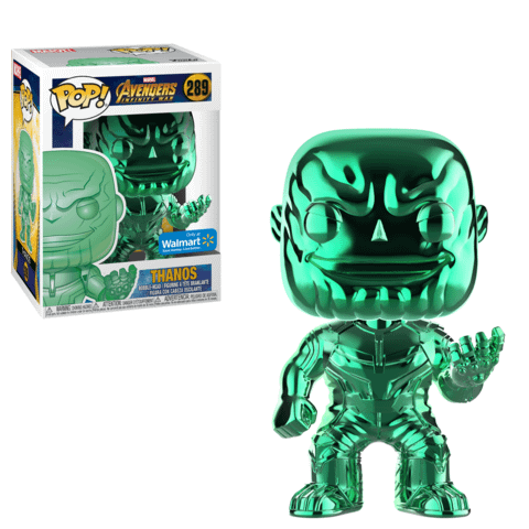 Funko Chrome Thanos Green