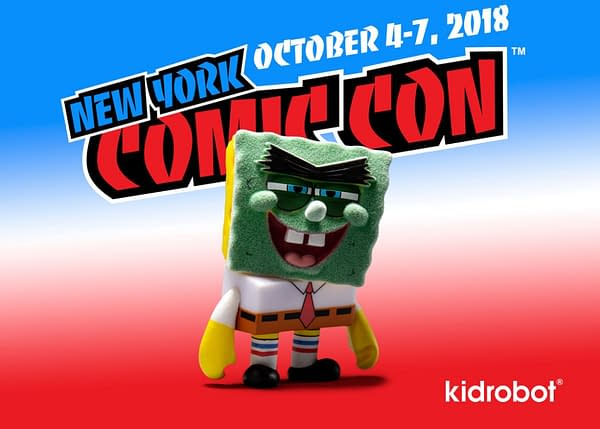 Kidrobot Spongebob NYCC Exclusive