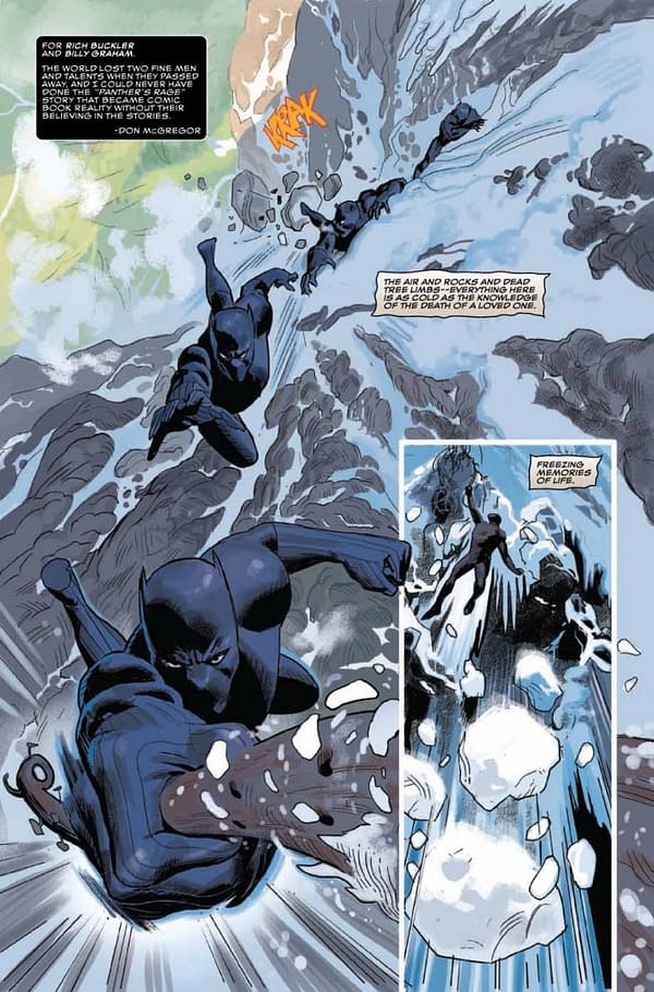 Black Panther Annual #1 art by Daniel Acuna