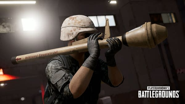 "The ""PUBG"" 6.3 Update Brings Panzerfaust To The Game"