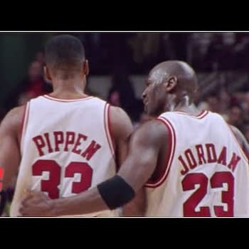 Michael Jordan, Scottie Pippen, and the Chicago Bulls is the subject of The Last Dance, courtesy of ESPN.