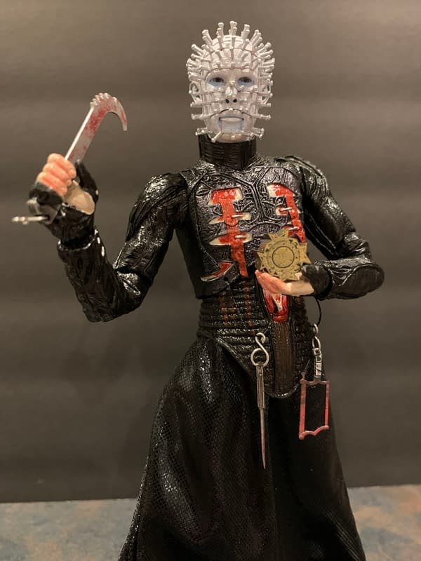 Let's Take a Look at NECA's New Ultimate Hellraiser Pinhead Figure
