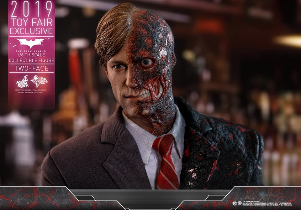 Dark Knight Baddie Two-Face Gets an Updated Hot Toys Release