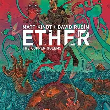Ether Copper: Golems #1 cover by David Rubin