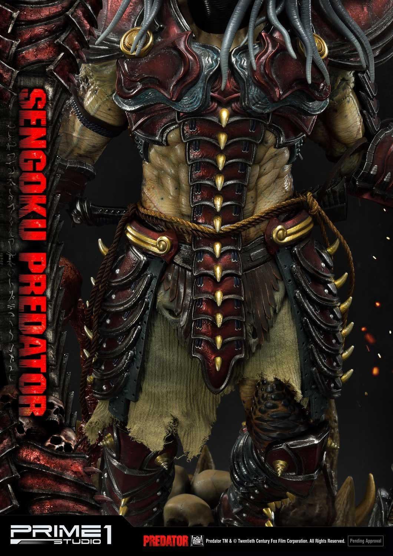 Predator Gains Japanese Armor with New Prime 1 Studio Statue