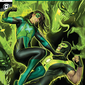 Green Lanterns #47 cover by Stjepan Sejic