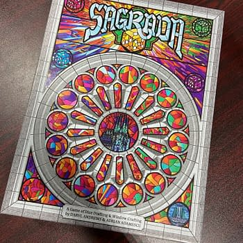 Sagrada -- a colorful and fun dice drafting game.