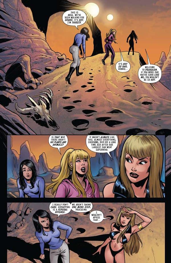 Amy Chu's Isolation Writer's Commentary for Red Sonja & Vampirella Meet Betty &Veronica #10.