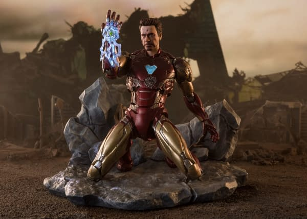 Iron Man Gets New I Am Iron Man Edition Figure from S.H. Figuarts