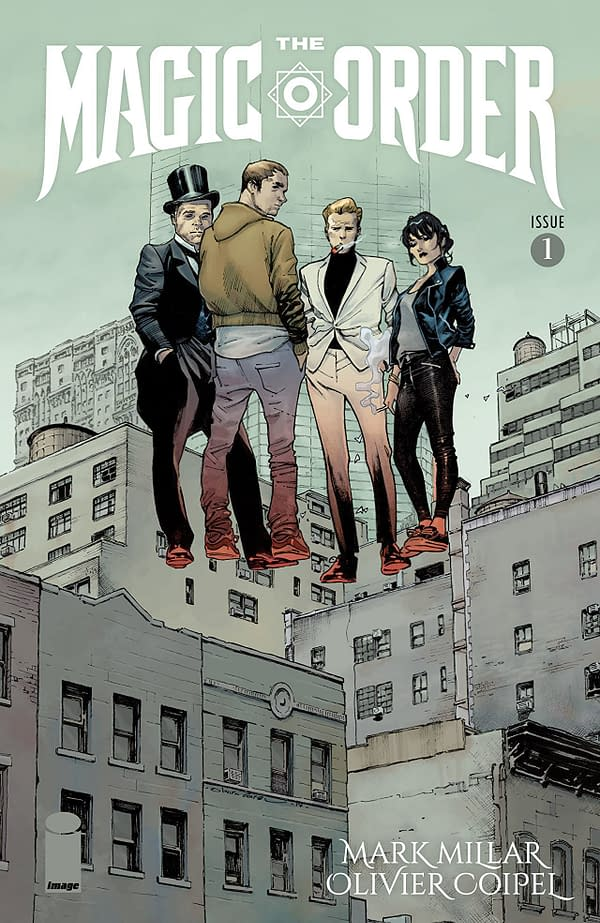 Magic Order #1 cover by Olivier Coipel and Dave Stewart