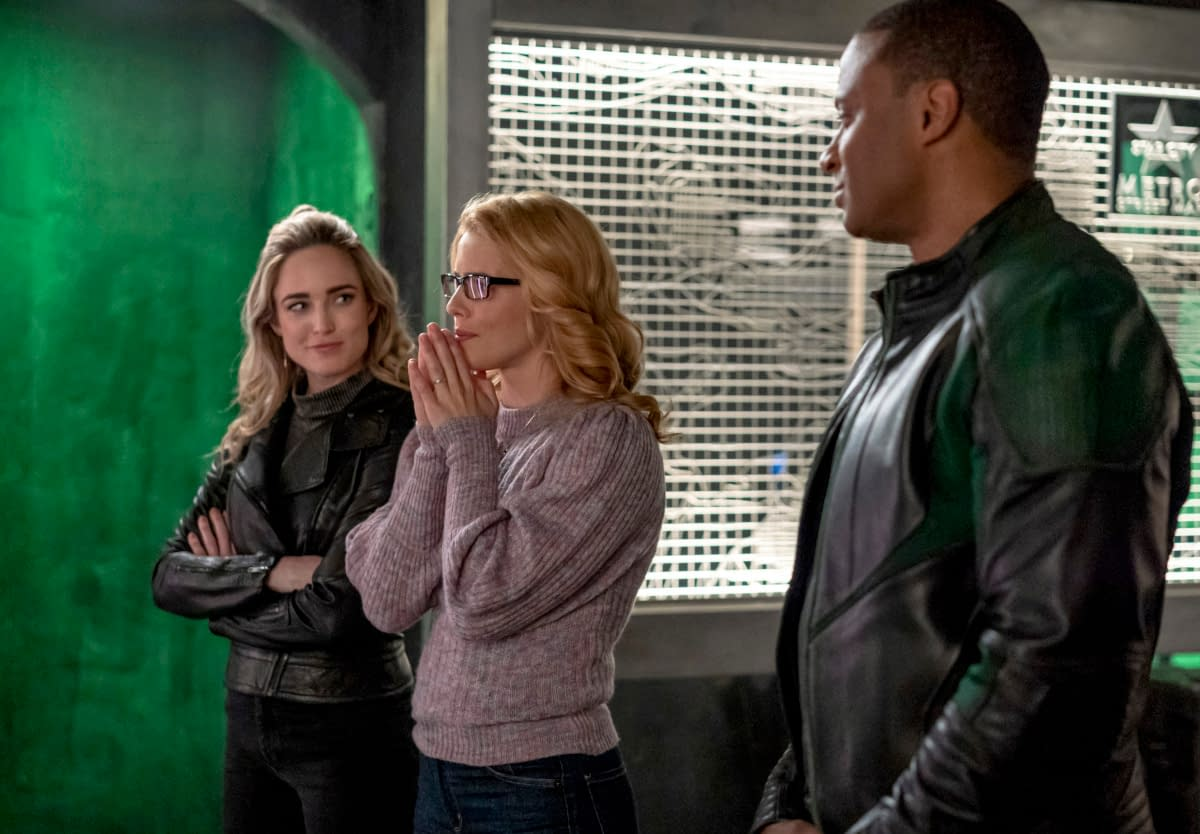 """""""Arrow"""" Series Finale """"Fadeout"""" Features Return of Some Friendly Faces [PREVIEW]"""