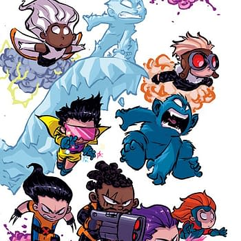 Skottie Young Plays the High-Stakes Game of Footsie with Uncanny X-Men #1 Variant