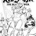 Red Sonja Steampunk Battlestar Galactica 1880 And More Dynamite Exclusive Covers For Baltimore