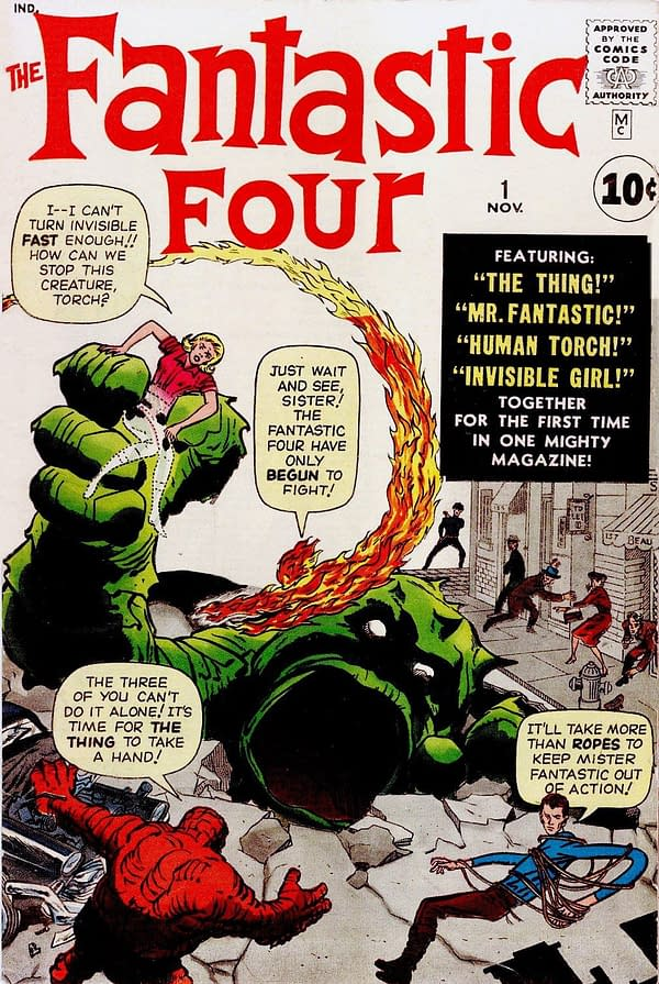 Dave Sim Brings Back the Fantastic Four as The Fornicators for Cerebus In Hell