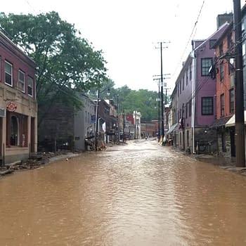 old ellicott city flooding 2018