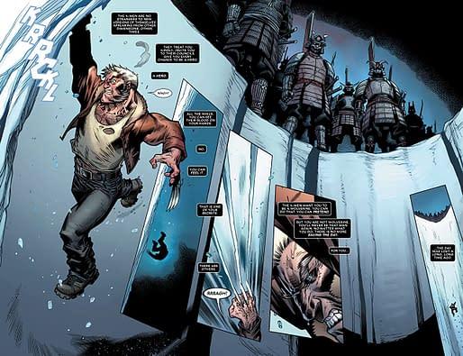 Interior art to Astonishing X-Men #3 by Ed McGuinness