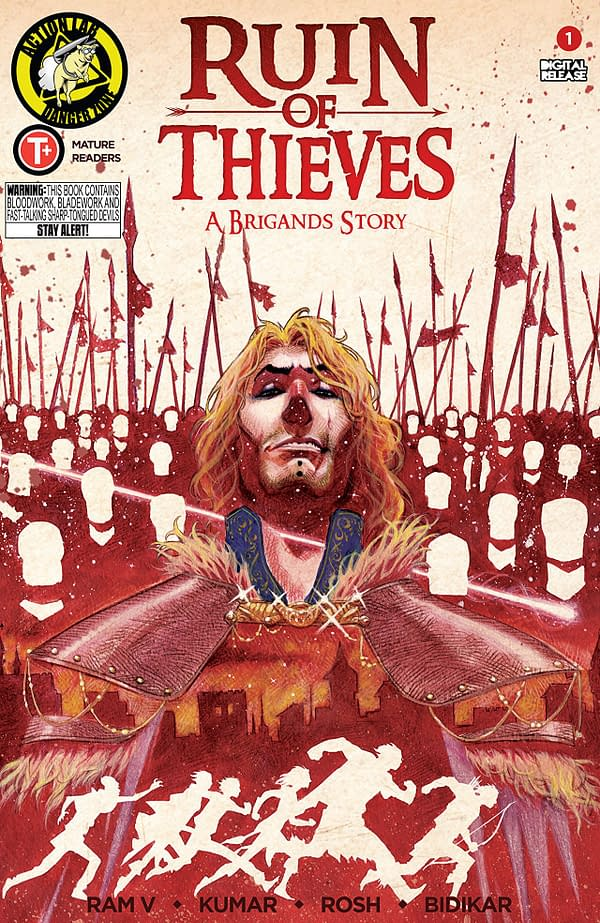 Ruin of Thieves: A Brigand's Story #1 cover by Sumit Kumar