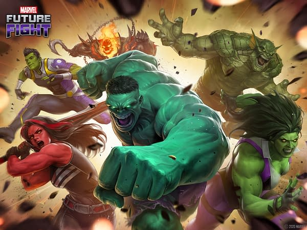 A Hulk character for every mood, especially angry. Courtesy of Netmarble.