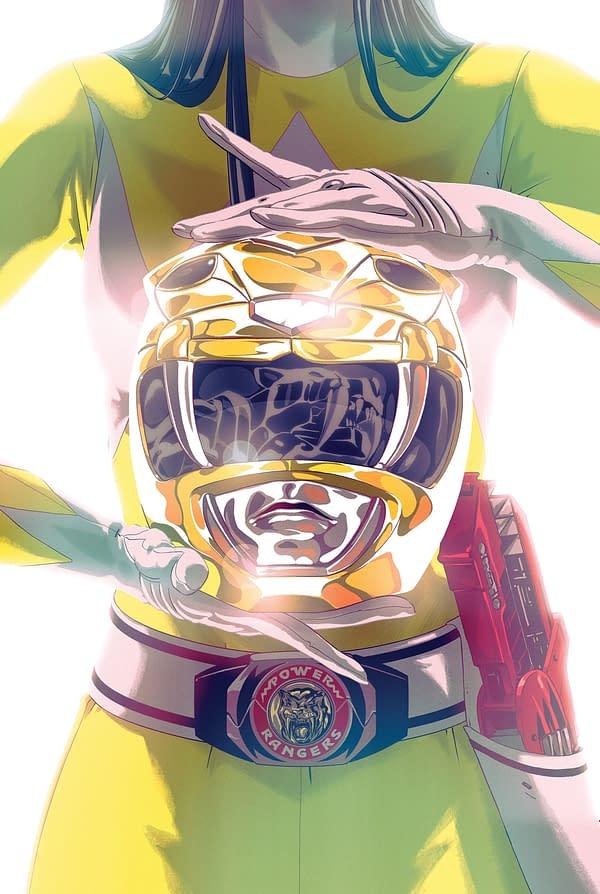 MMPR SDCC - Yellow Ranger