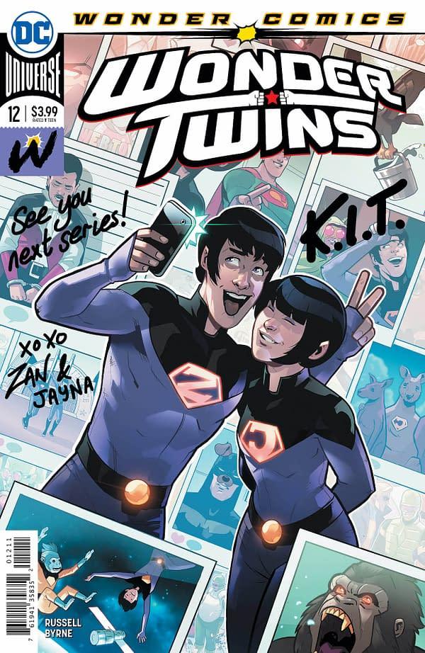 Wonder Twins #12 [Preview]