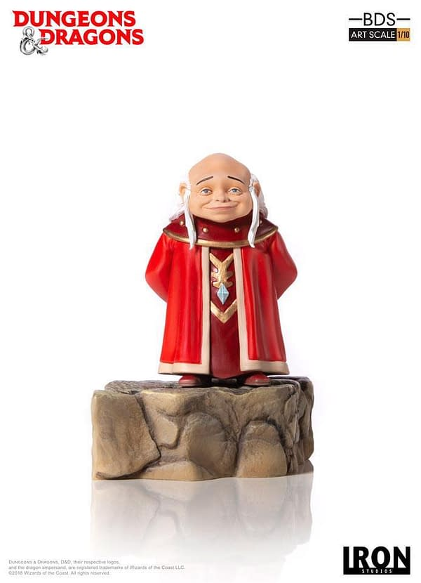 Dungeons and Dragons Cartoon Master Statue