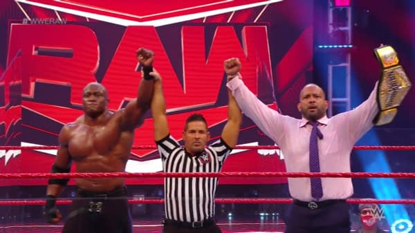 MVP and Bobby Lashley stand tall on WWE Raw.