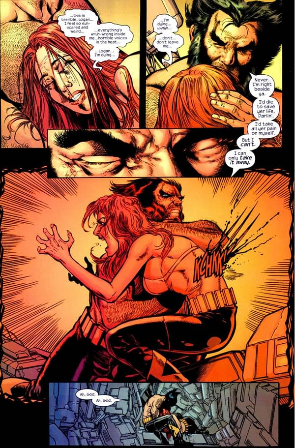 The X-Men's Worst Relationship Rekindled in Wolverine Infinity Watch #5 (Preview)