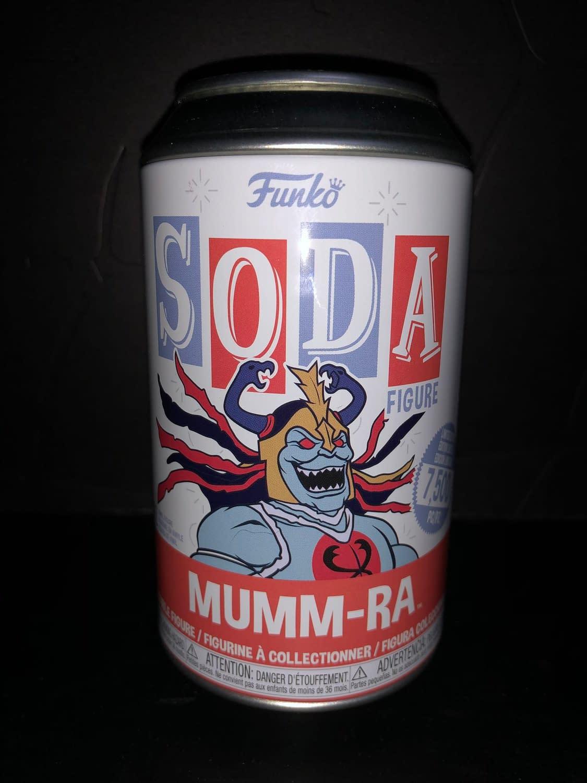 Funko Soda Vinyl Figure Thundercats Mumm-Ra Figure can front view.
