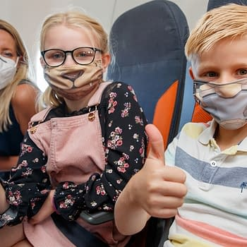 Will Sliney Creates Kid Face Masks for easyJet Aeroplanes