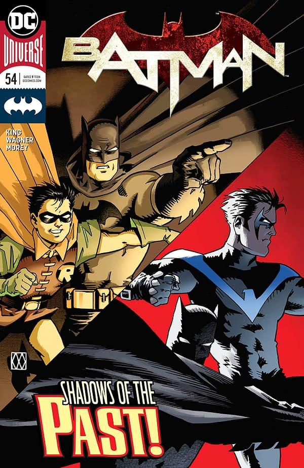 Batman #54 cover by Matt and Brennan Wagner