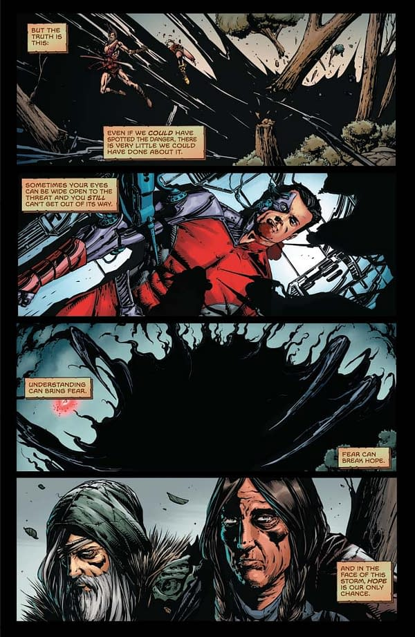 Writer's Commentary – Ray Fawkes Talks The Sovereigns #4