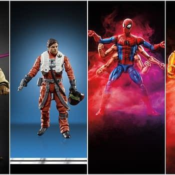 Hasbro Reveals Marvel Legends Star Wars Figures at Lucca Comics and Games