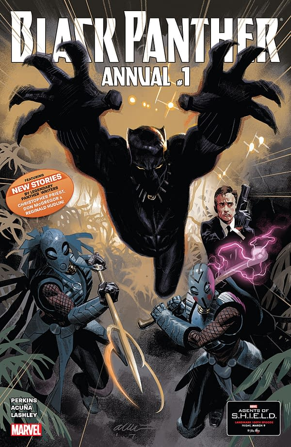 Black Panther Annual #1 cover by Daniel Acuna